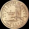 Парящий орел  1 доллар США  2000  монета из серии «Американские индейцы»