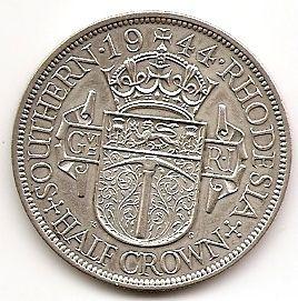 1/2 кроны Южная Родезия 1944