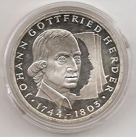 250 лет со дня рождения Иоганна Готфрида  Гердера 10 марок Германия 1994 G