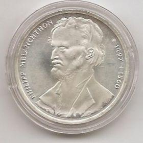 500 лет со дня рождения Филиппа Меланхтона 10 марок Германия 1996