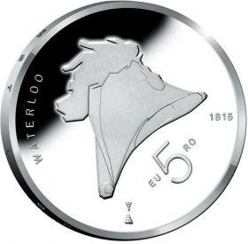 200 лет битве при Ватерлоо 5 евро Нидерланды 2015