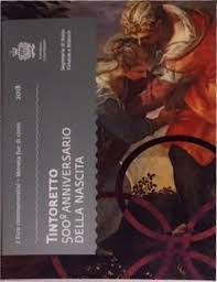 500 лет со дня рождения Тинторетто  2 евро Сан-Марино 2018